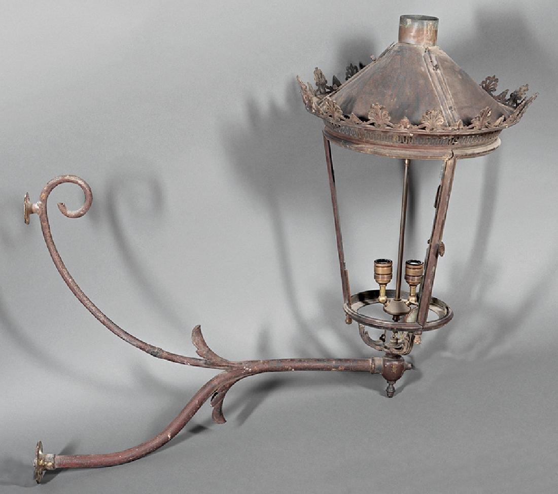 French Gas Lantern