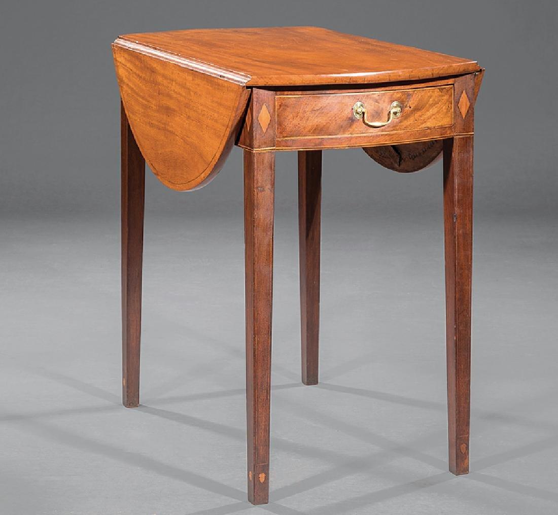 American Federal Inlaid Mahogany Pembroke Table