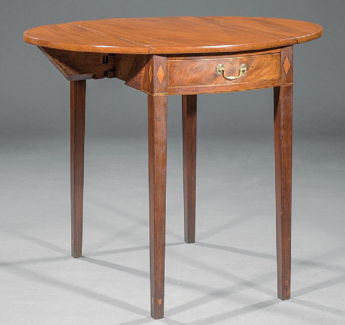 American Federal Inlaid Mahogany Pembroke Table - 2