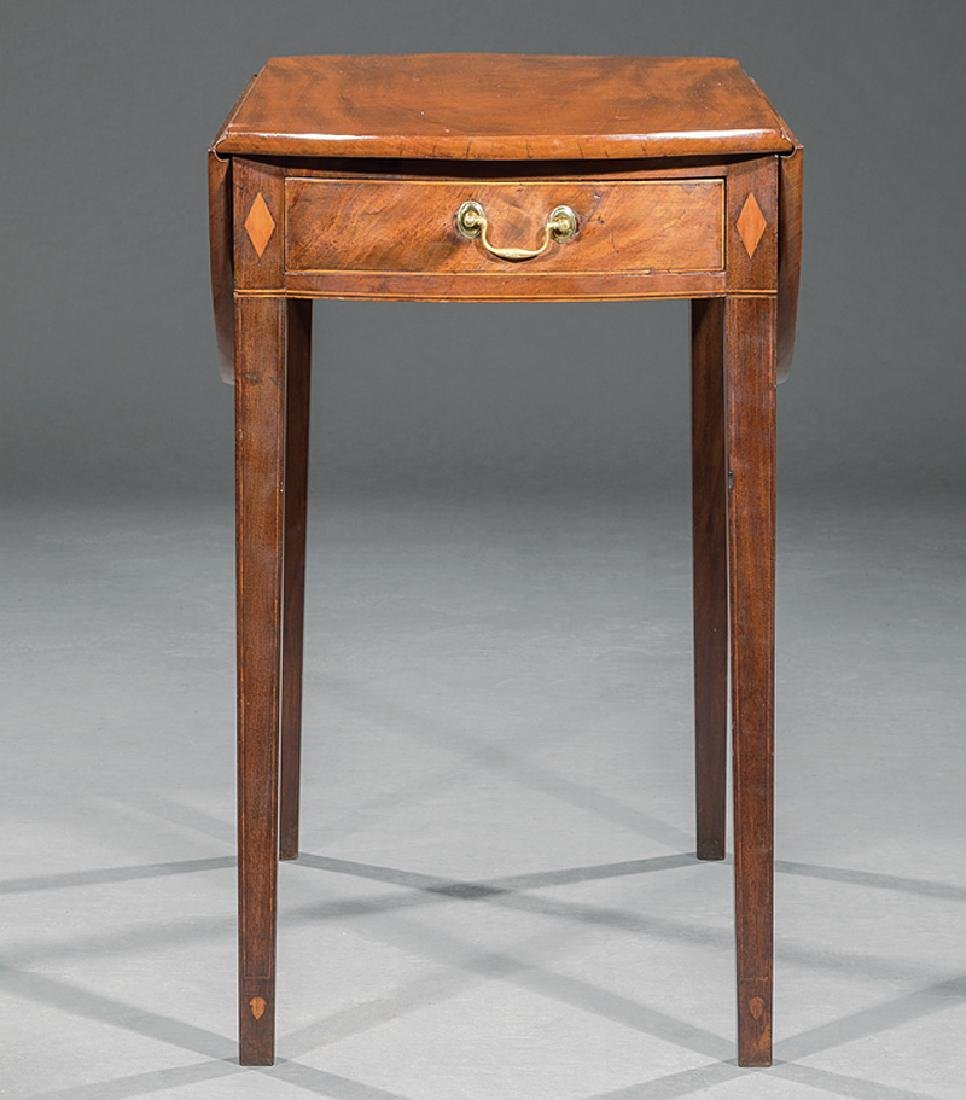 American Federal Inlaid Mahogany Pembroke Table - 3