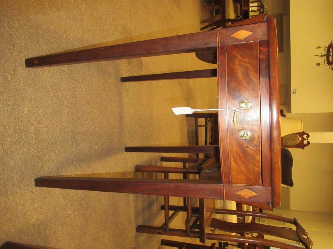 American Federal Inlaid Mahogany Pembroke Table - 4