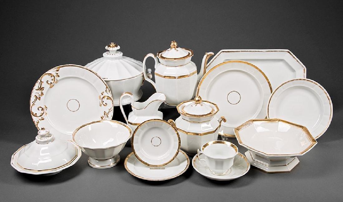 """Paris Porcelain """"Anneau d'Or"""" Table Service"""
