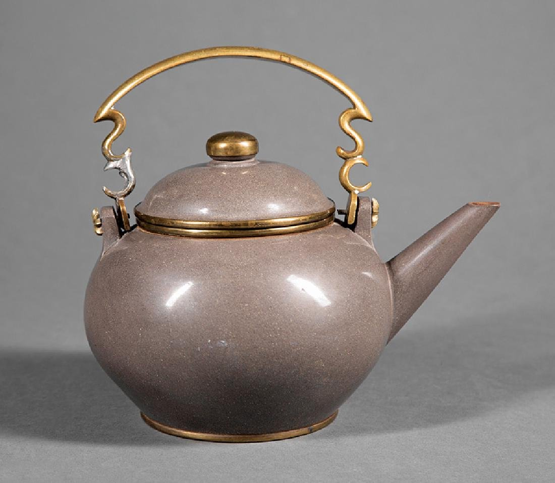 Two Chinese Pottery Teapots
