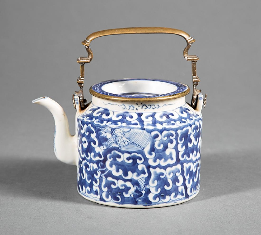 Two Chinese Pottery Teapots - 3