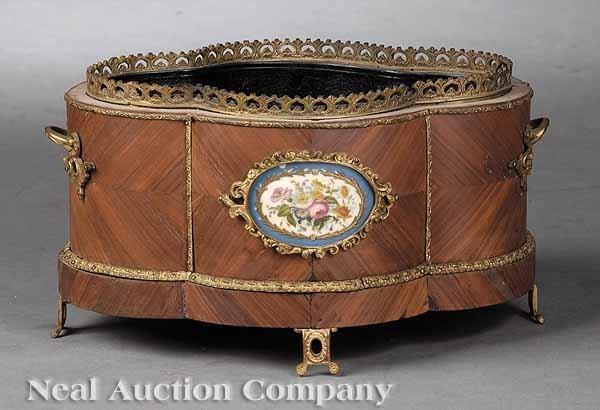 0011: Louis XVI-Style Kingwood Jardiniere