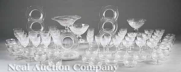 0018: Set of T.G. Hawkes & Company Glass Stemware