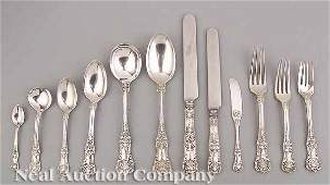 0335 Tiffany  Co Sterling Silver Flatware Service