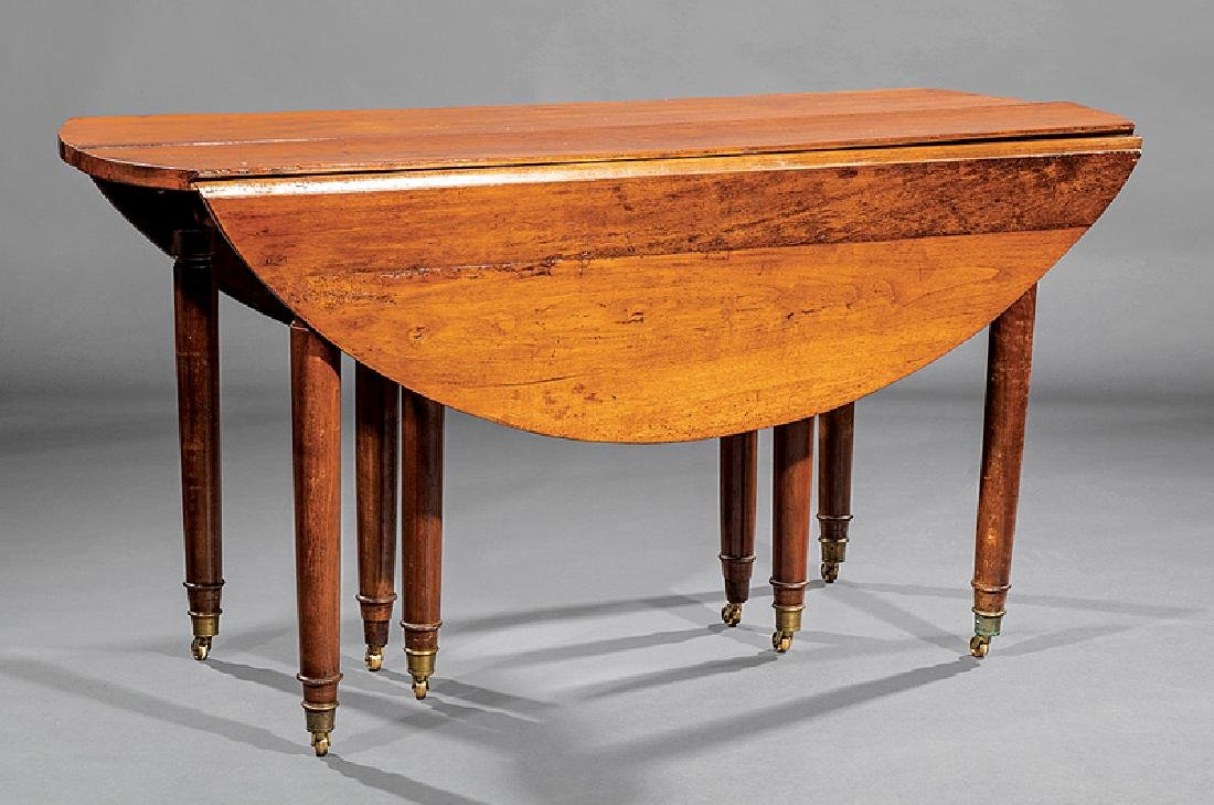 Louis XVI-Style Cherrywood Dining Table