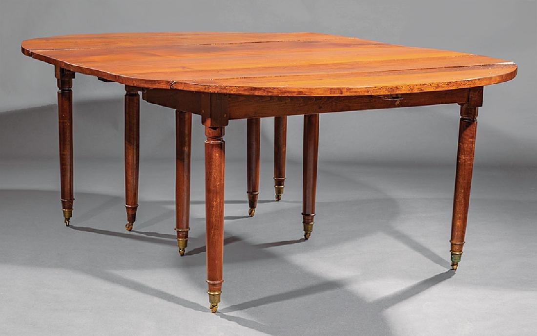 Louis XVI-Style Cherrywood Dining Table - 2