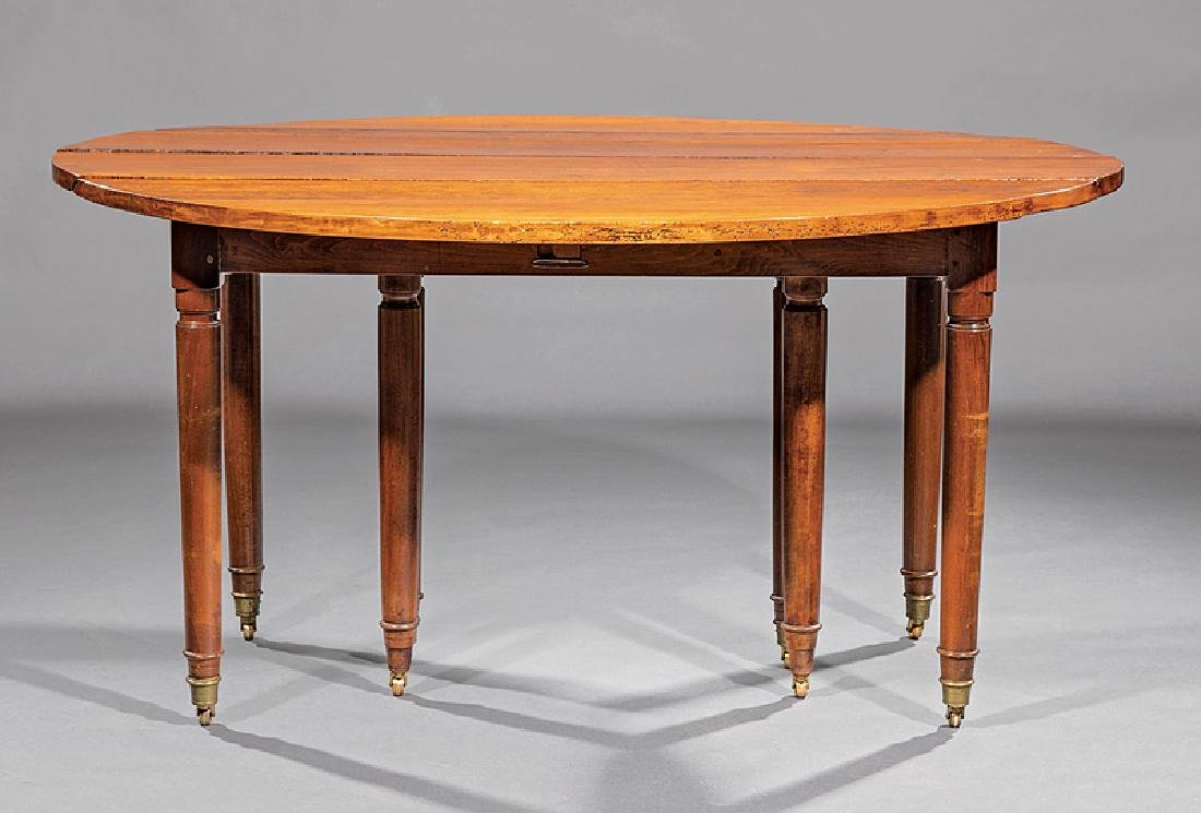 Louis XVI-Style Cherrywood Dining Table - 3