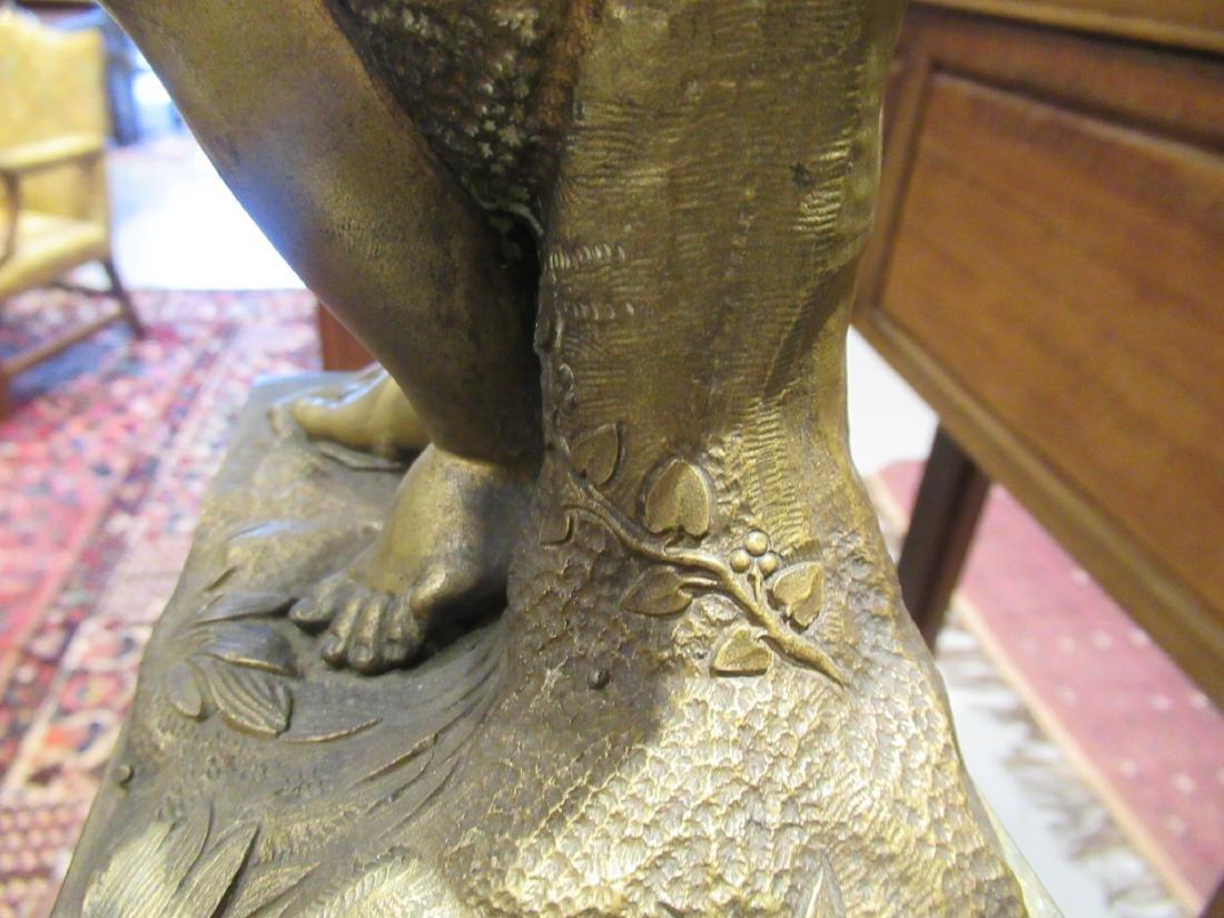 Louis Philippe Bronze Four-Light Figural Torchere - 4