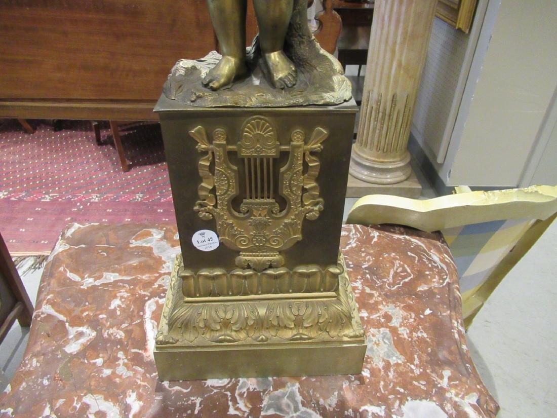 Louis Philippe Bronze Four-Light Figural Torchere - 7
