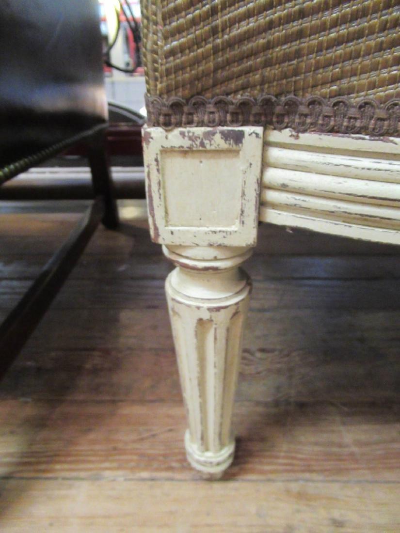 Louis XVI-Style Three-Part Creme Peinte Duchesse - 8