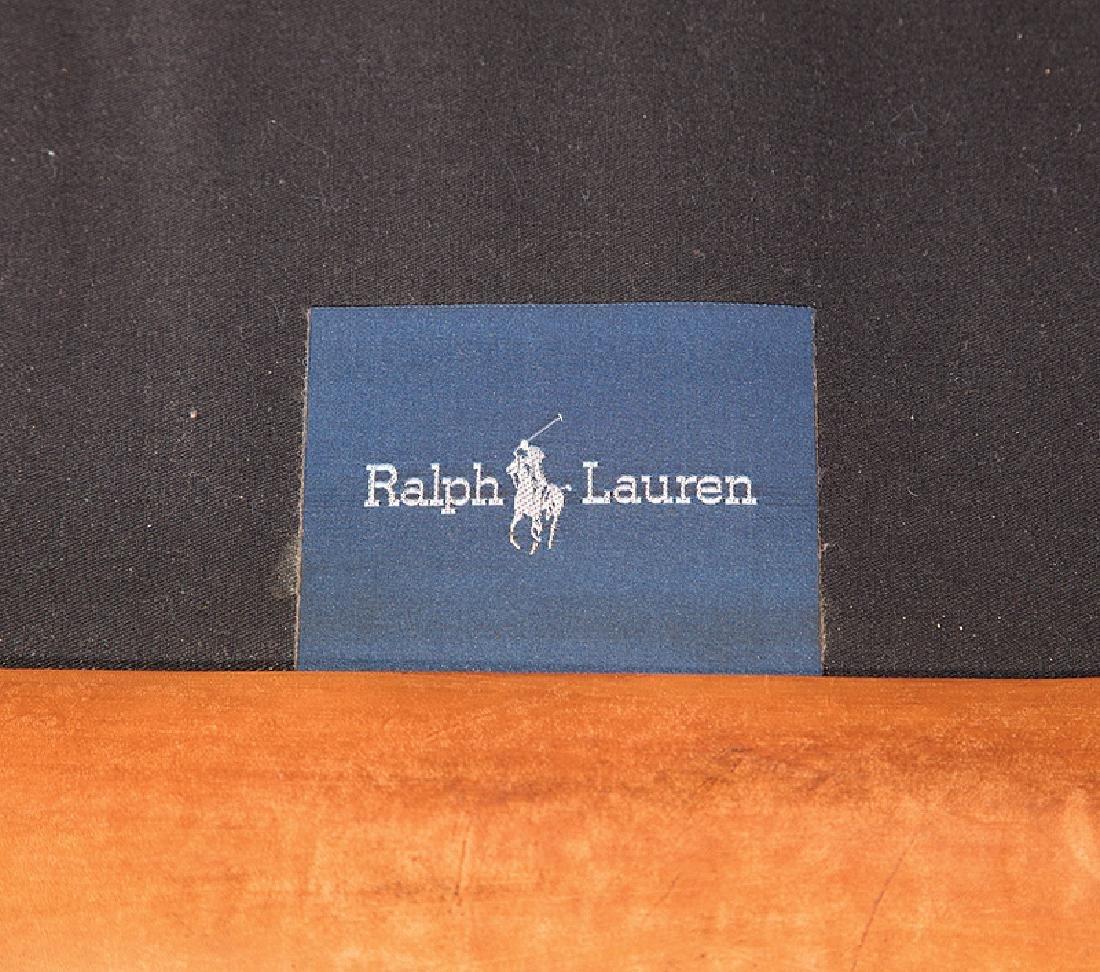 Brown Leather Chesterfield Sofa, Ralph Lauren - 3