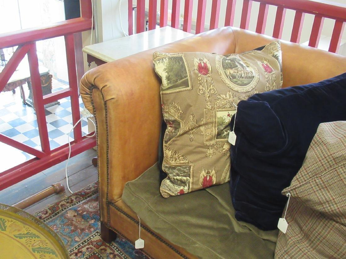 Brown Leather Chesterfield Sofa, Ralph Lauren - 5