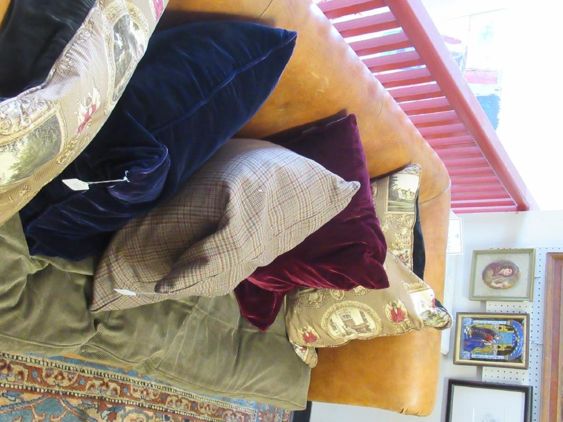 Brown Leather Chesterfield Sofa, Ralph Lauren - 6