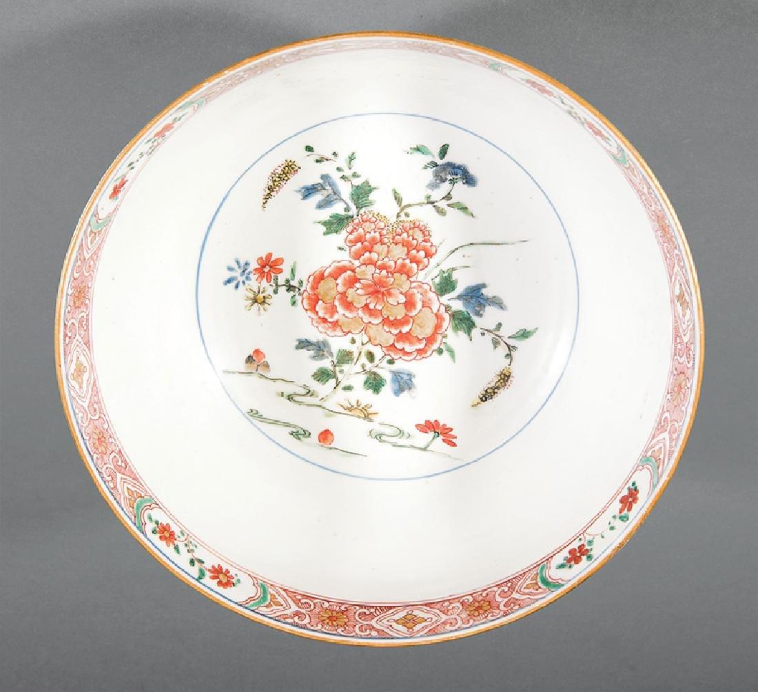 Chinese Famille Verte Porcelain Bowl - 2