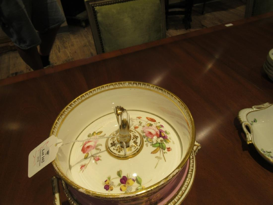 Pair of English Porcelain Covered Fruit Coolers - 6