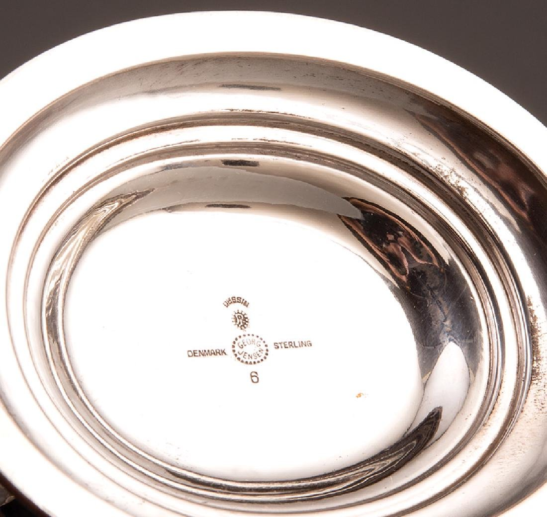 Pair of Georg Jensen Sterling Silver Compotes - 2