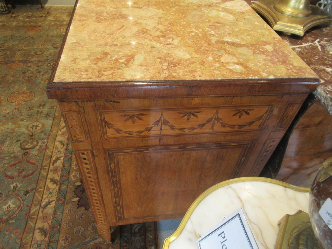 Italian Marquetry and Walnut Commode - 4