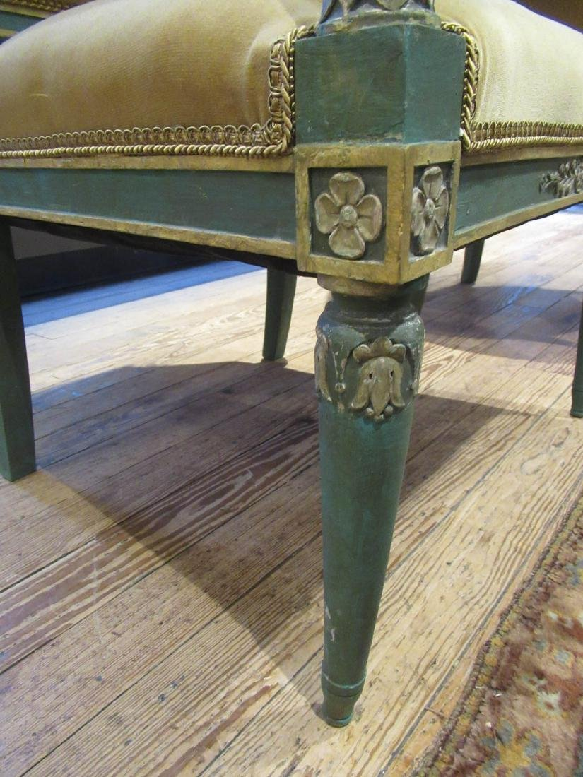 Directoire Carved, Painted, Parcel Gilt Chamber Suite - 5