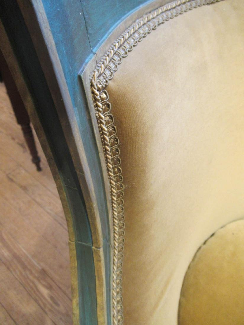 Directoire Carved, Painted, Parcel Gilt Chamber Suite - 8