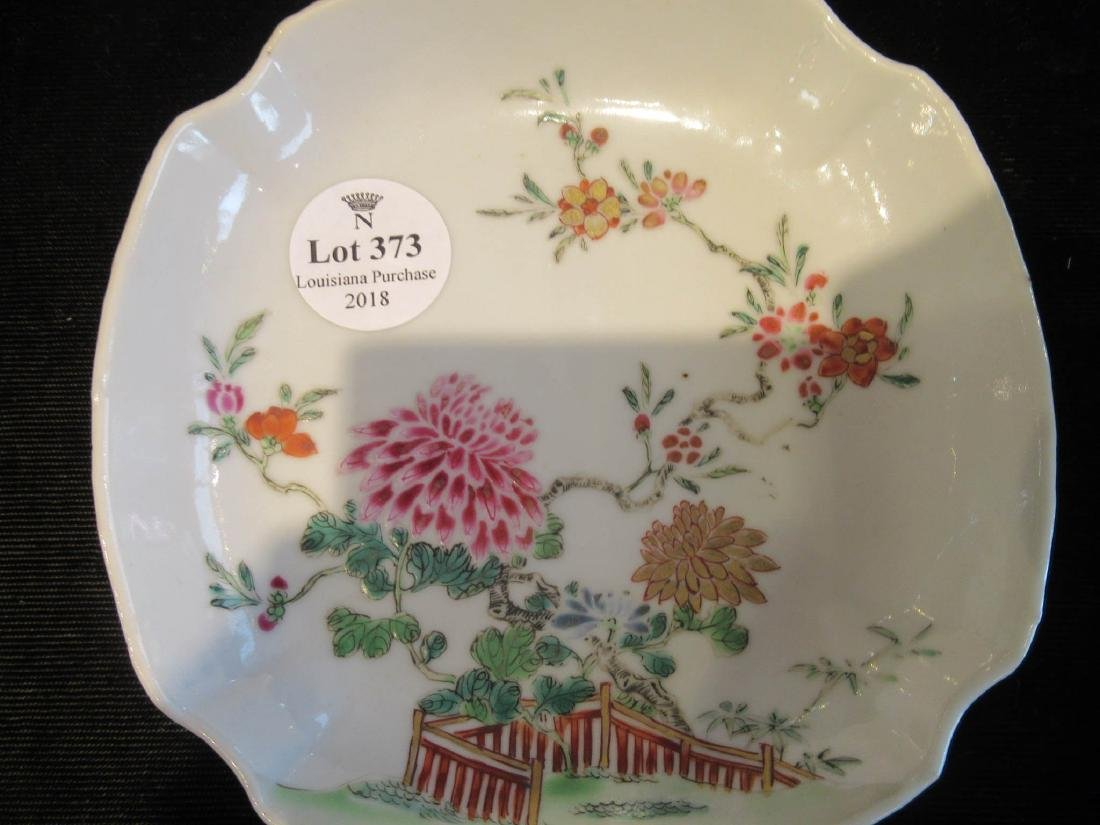 Chinese Famille Rose Porcelain Cup and Saucer - 4