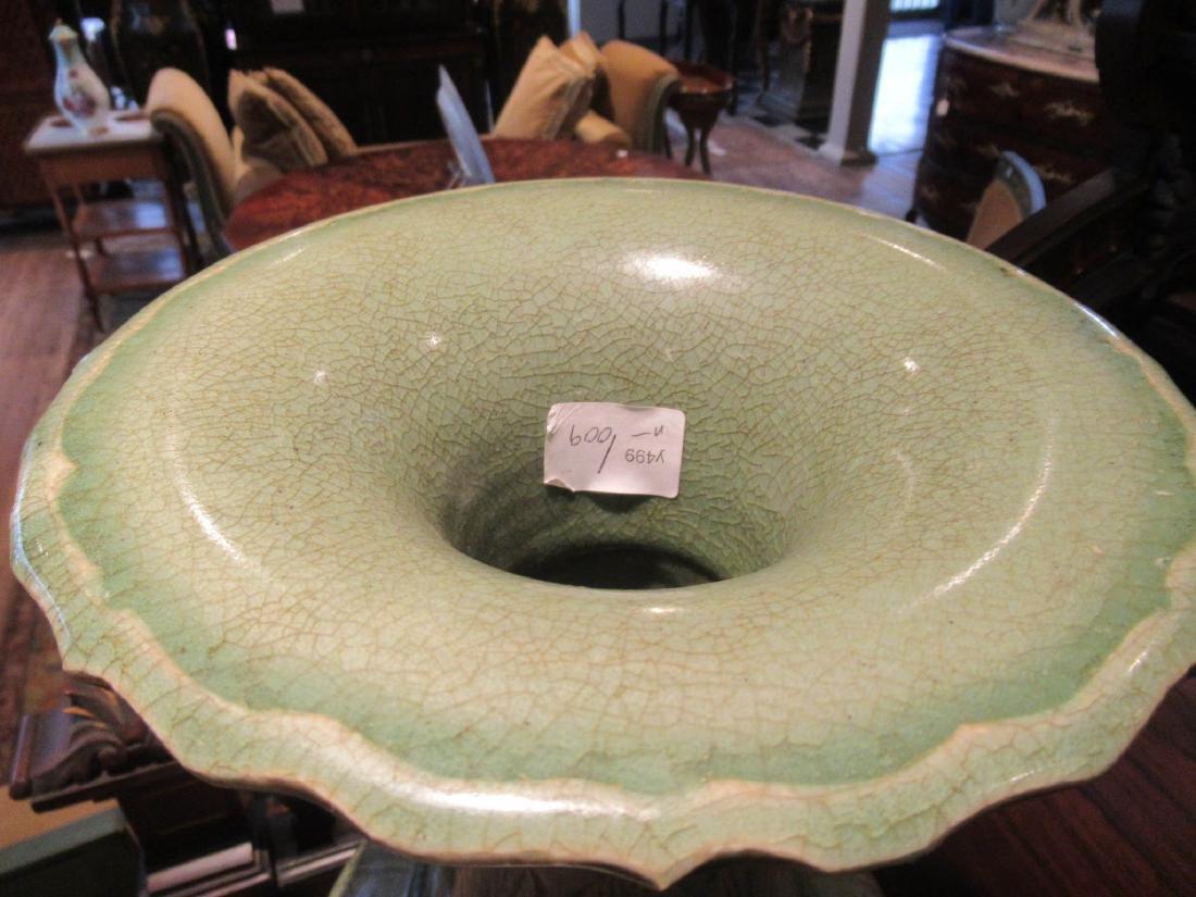 Pair of Chinese Celadon Stoneware Vases - 5