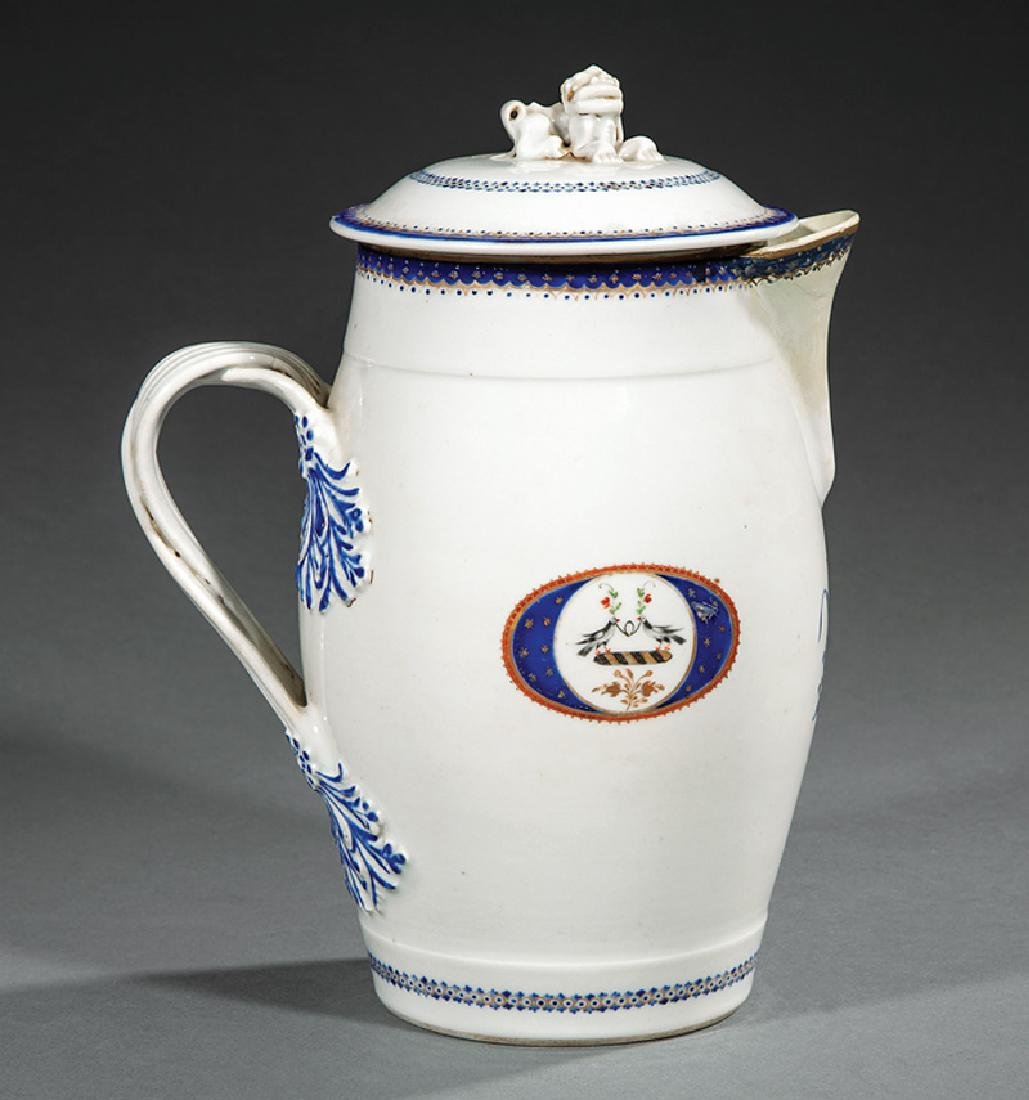 Chinese Export Armorial Porcelain Milk Jug