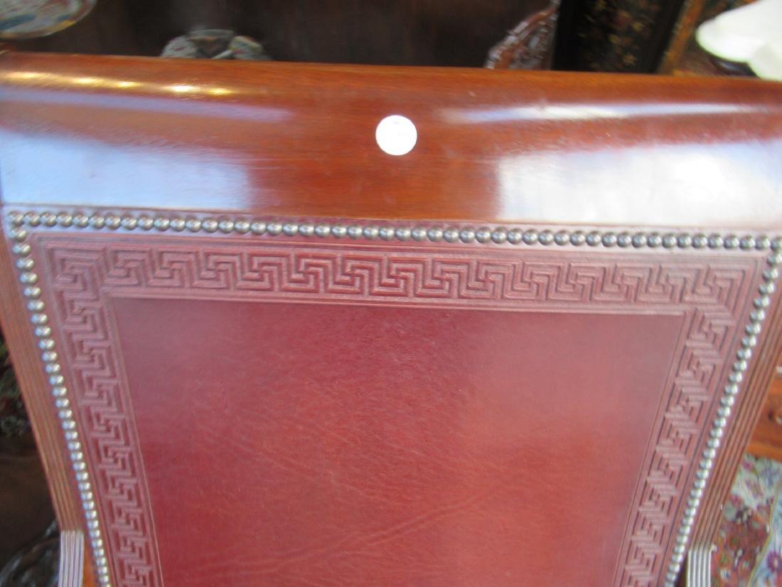 Fine Benchmade Mahogany Campeche Chair - 7