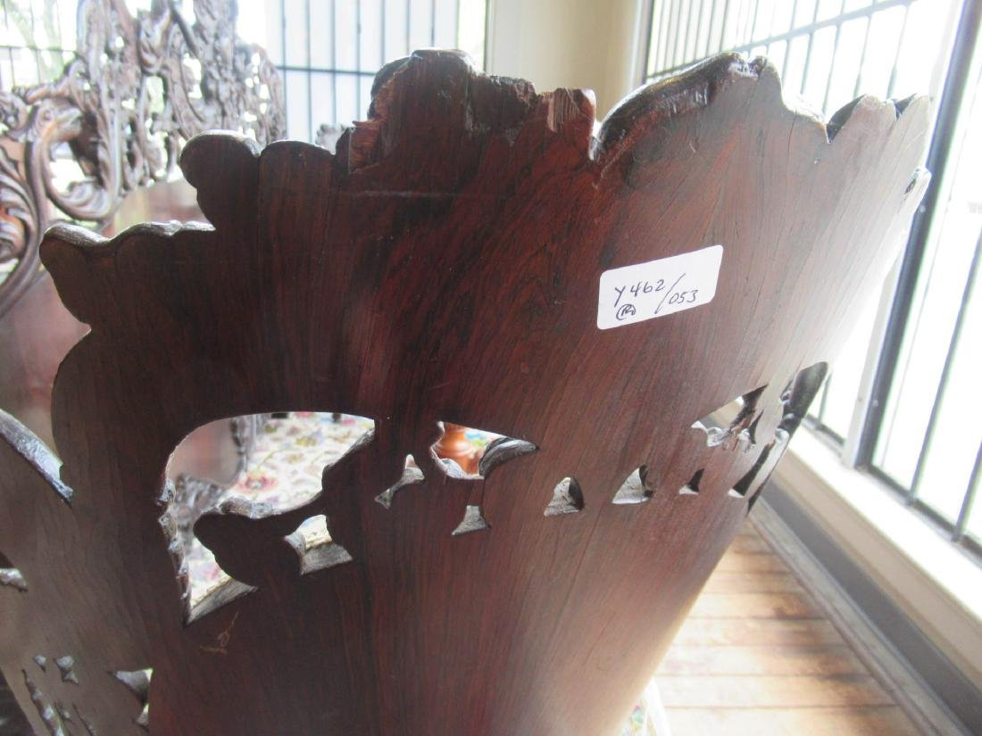 Carved and Laminated Rosewood Side Chairs, Belter - 7