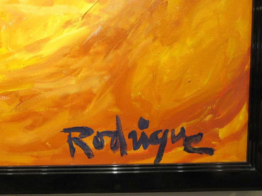 George Rodrigue (American/Louisiana, 1944-2013) - 4