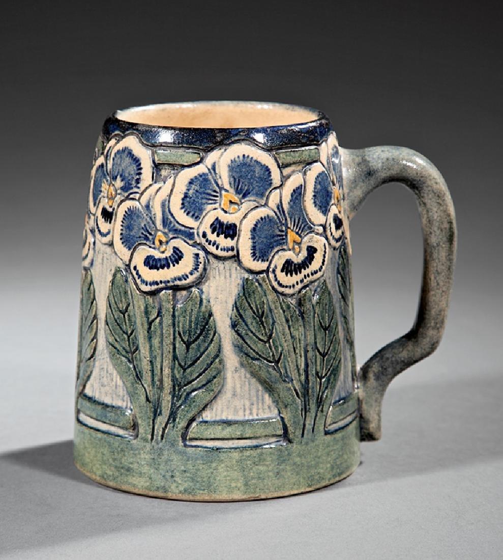 Newcomb College Art Pottery High Glaze Tankard