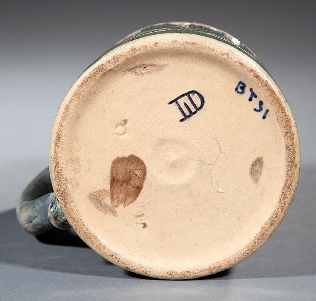 Newcomb College Art Pottery High Glaze Tankard - 3
