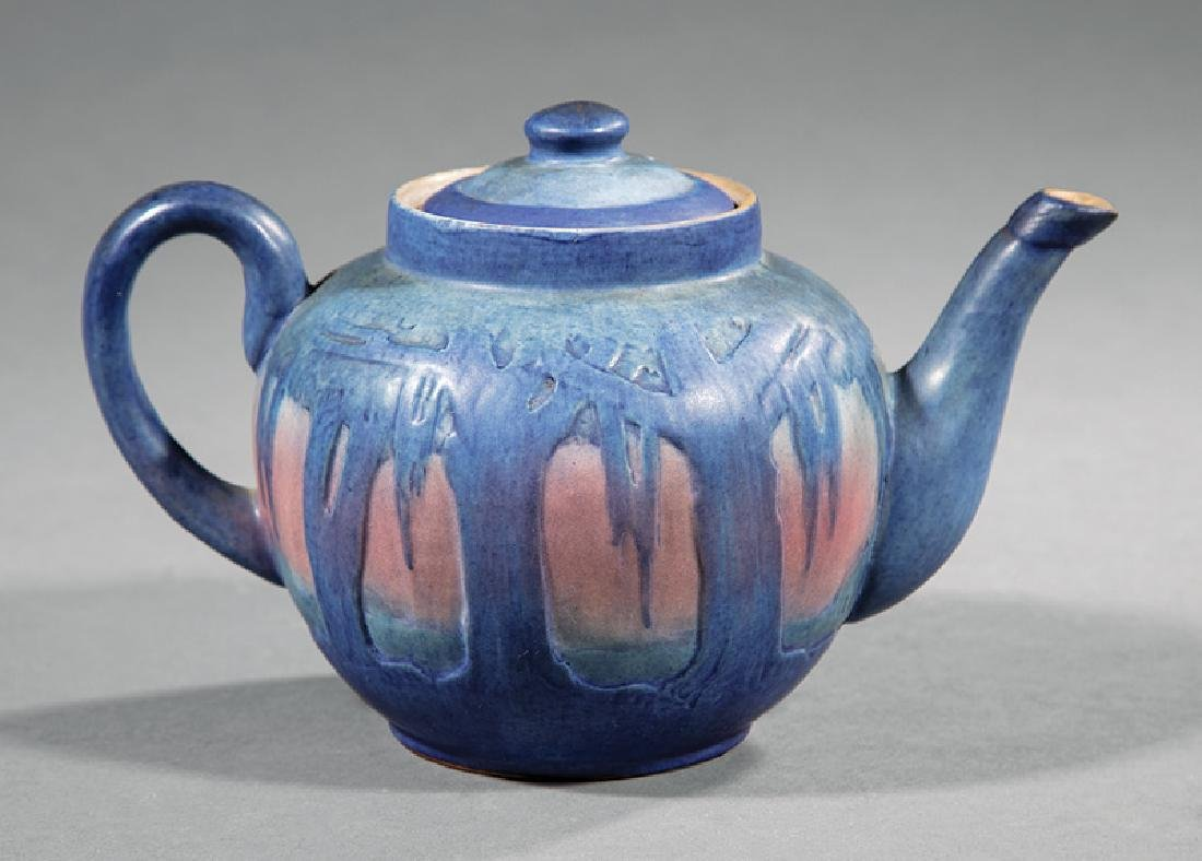 Newcomb College Art Pottery Teapot - 2