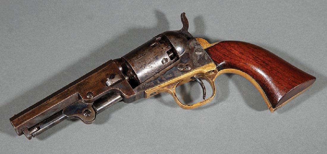 Cased Presentation Colt Model 1849 Pocket Revolver - 2