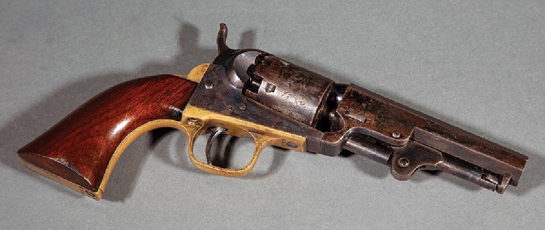 Cased Presentation Colt Model 1849 Pocket Revolver - 3