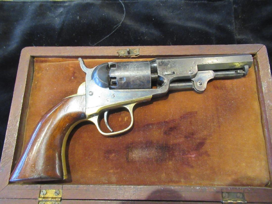 Cased Presentation Colt Model 1849 Pocket Revolver - 7