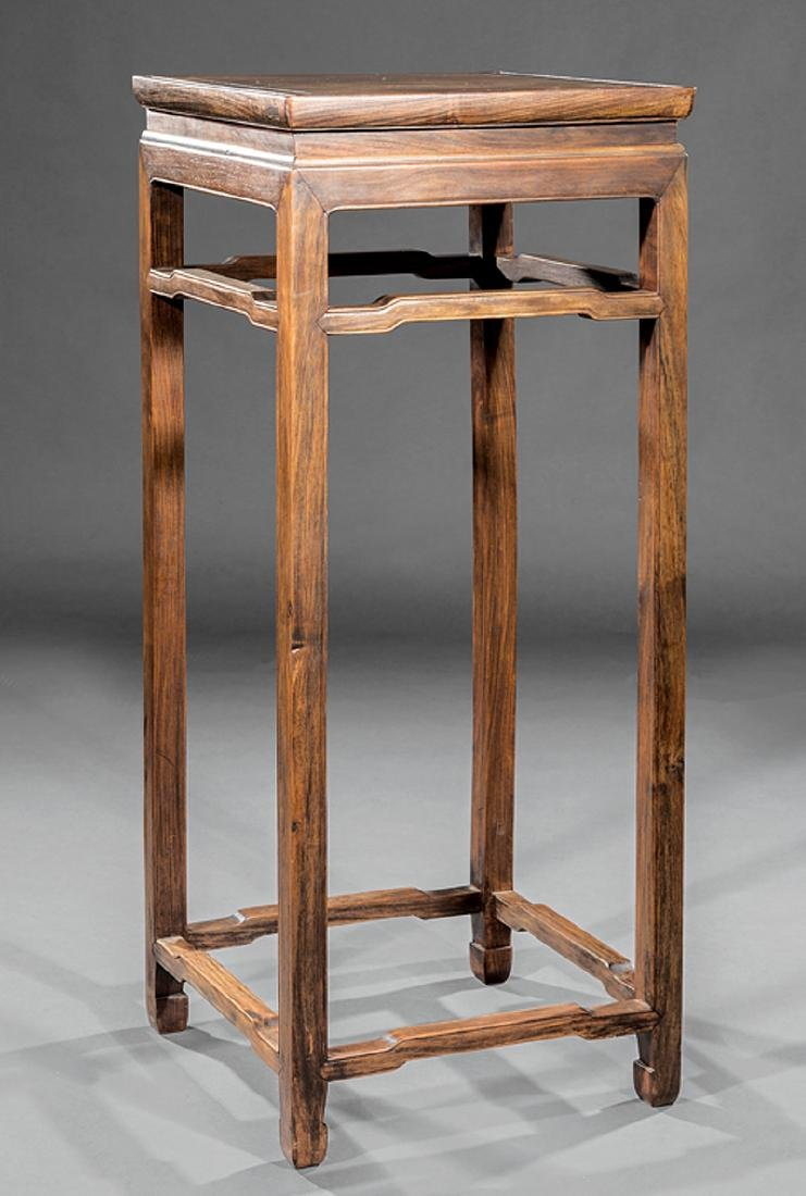 Chinese Hardwood Tall Stand