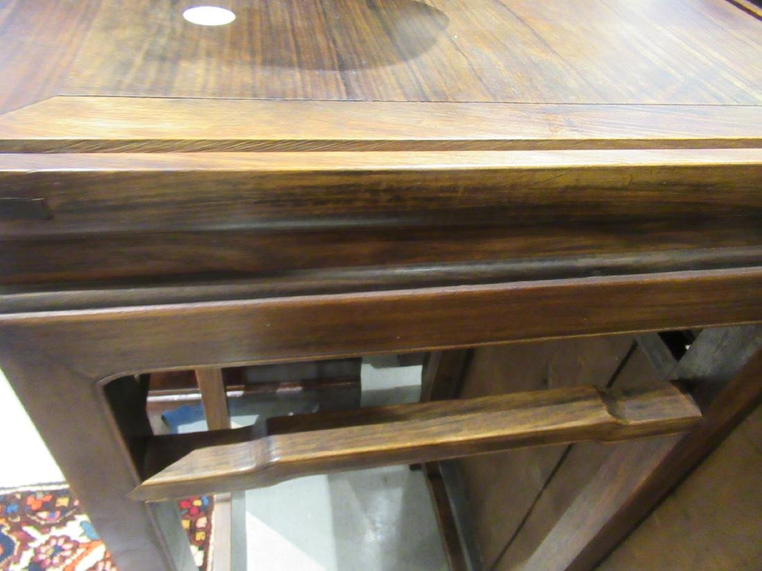 Chinese Hardwood Tall Stand - 4
