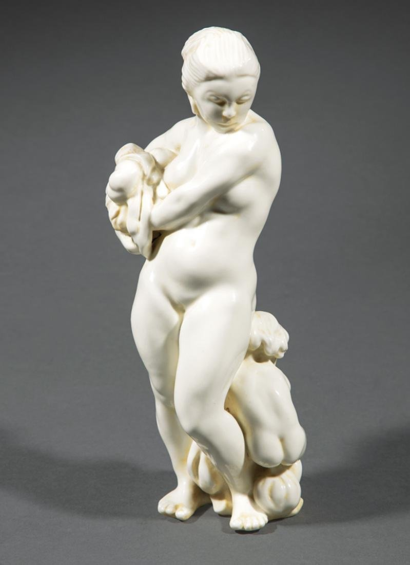 Kai Nielsen Bing and Grondahl Blanc de Chine Figurine
