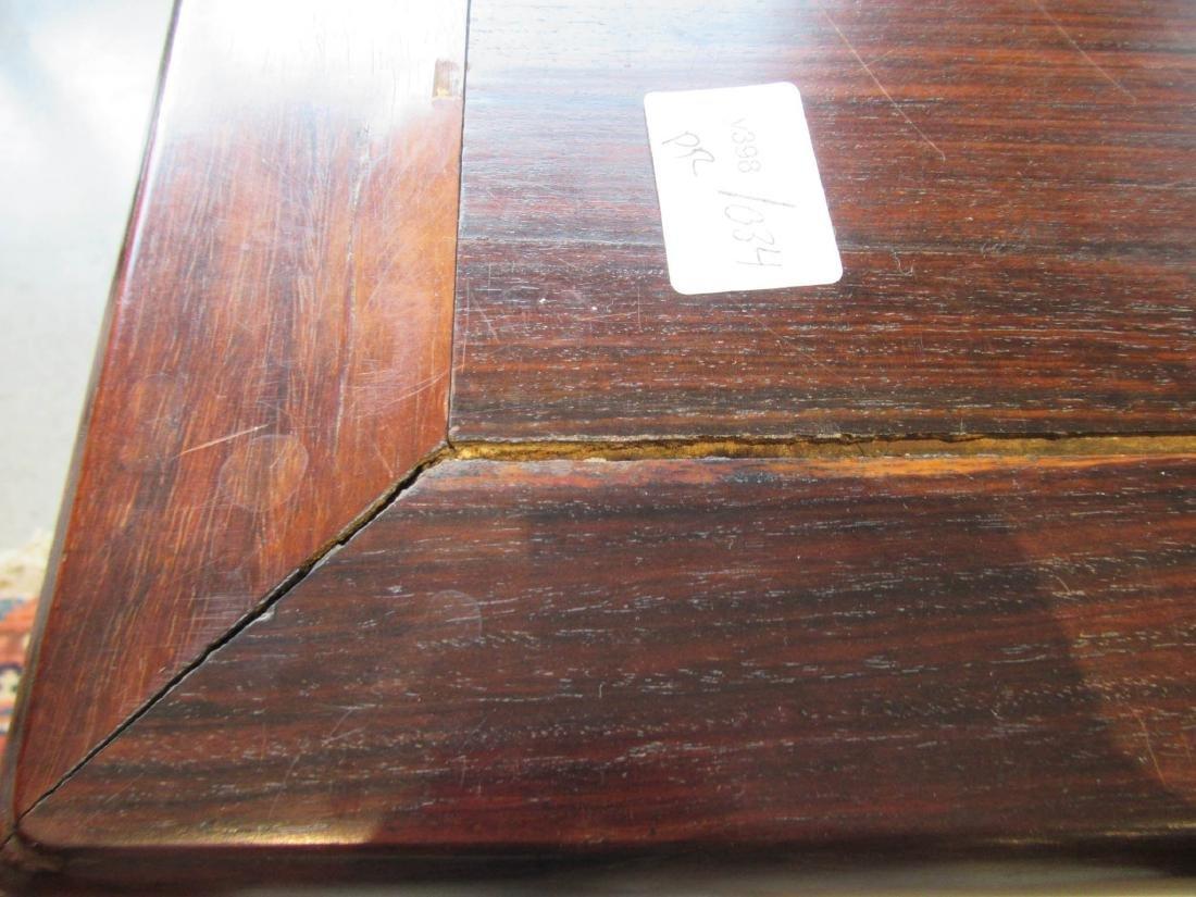 Pair of Chinese Hardwood Stools - 7