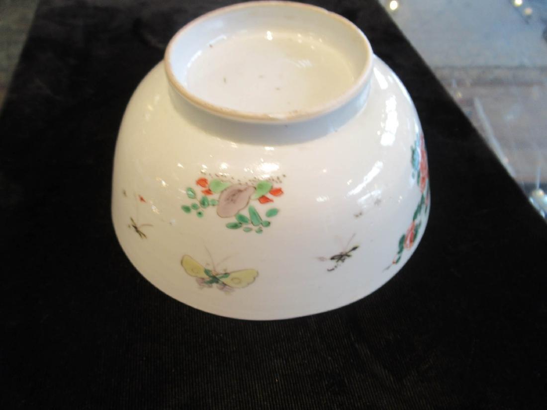 Chinese Famille Verte Porcelain Bowl - 8