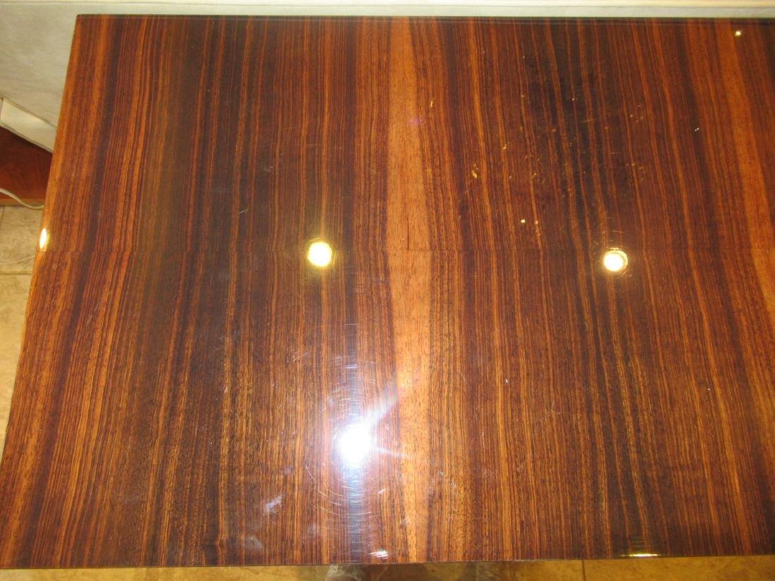Lee Ledbetter Macassar Wood Veneered Console Table - 4