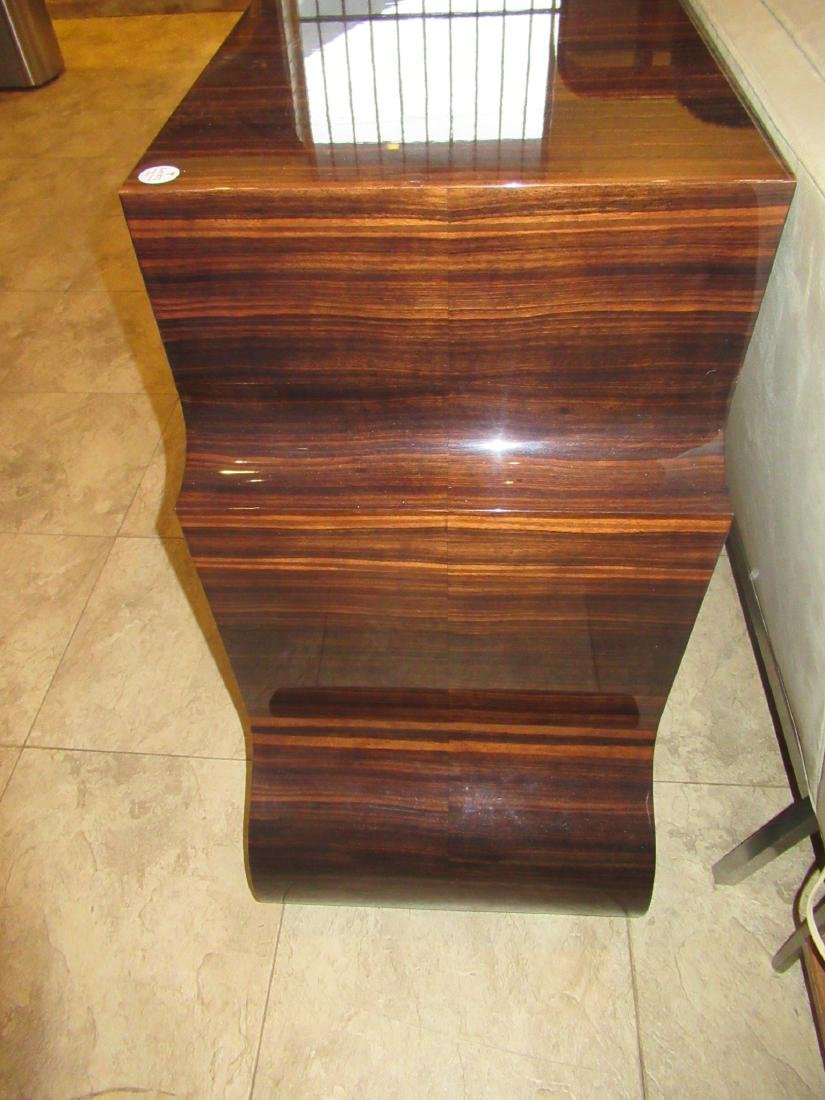 Lee Ledbetter Macassar Wood Veneered Console Table - 5