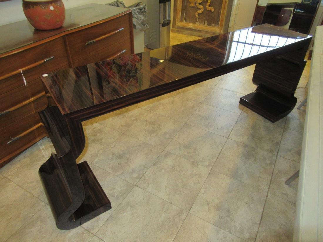 Lee Ledbetter Macassar Wood Veneered Console Table - 6