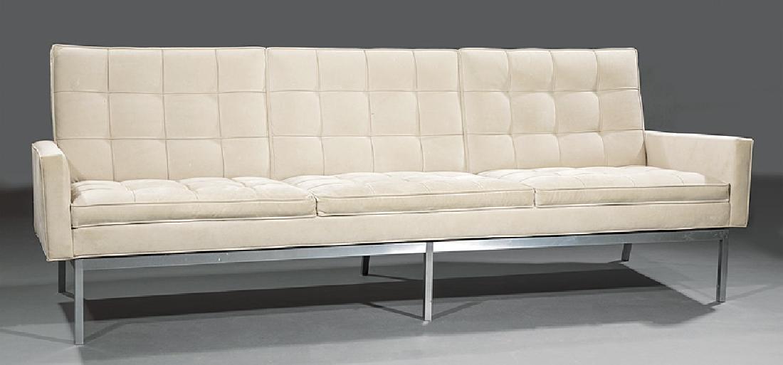 Florence Knoll (b. 1917) Three-Seat Sofa