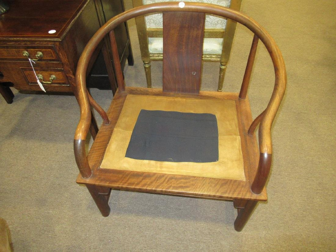 Chinese Hardwood Continuous Round Back Archairs - 4