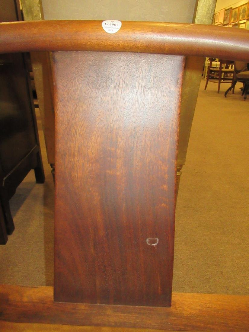 Chinese Hardwood Continuous Round Back Archairs - 7