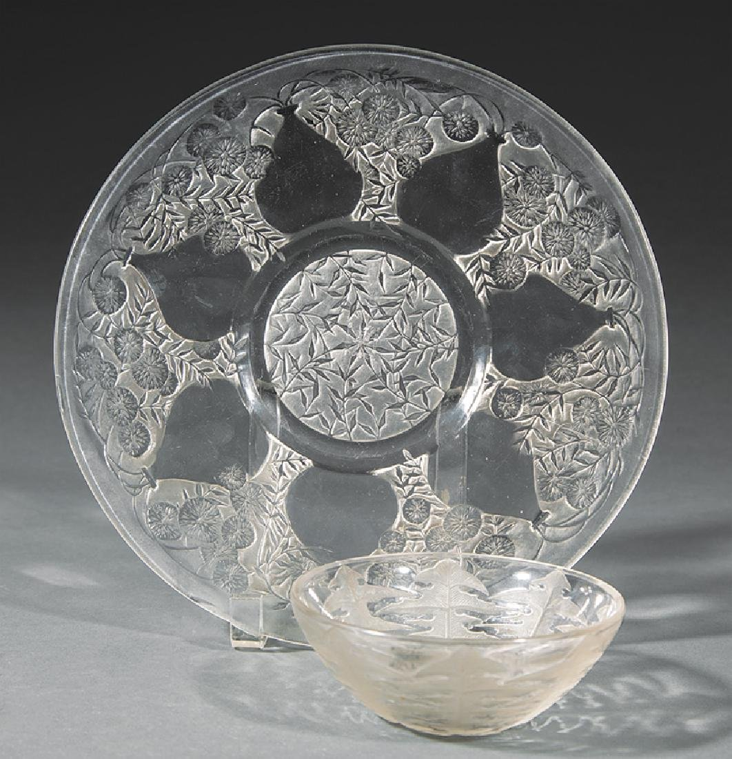 Group of Lalique Glass Pieces